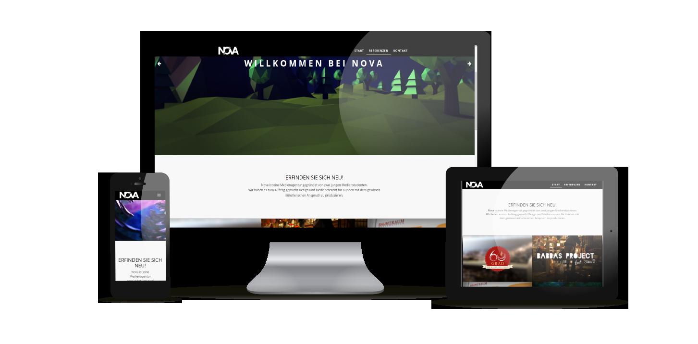 responsive webdesign von NOVA-Designs.de